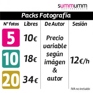 Pack fotografía, compatible con todos los Packs
