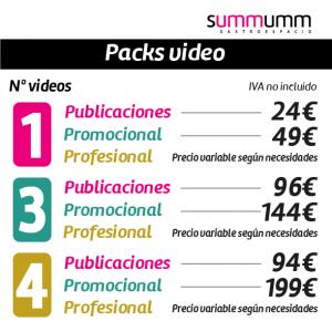 Pack vídeo, compatible con todos los Packs.